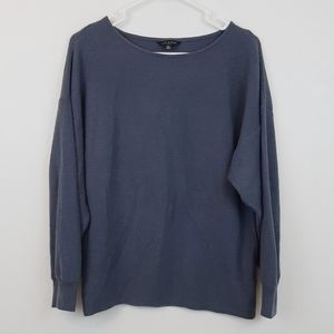 Lucky brand stormy blue sweater